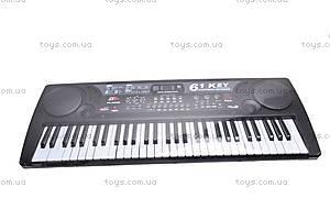 Синтезатор на 61 клавишу с МР3 плеером, MQ-809USB
