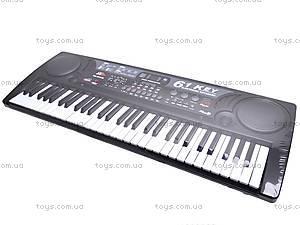 Синтезатор на 61 клавишу с МР3 плеером, MQ-809USB, цена
