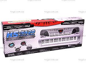 Синтезатор, с микрофоном, HS5420A, купить
