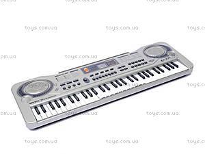 Синтезатор с микрофоном, MQ811USB, фото