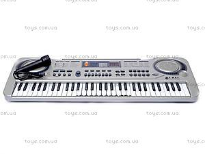 Синтезатор с микрофоном, MQ811USB