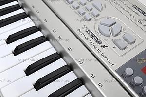 Синтезатор с микрофоном, детский, SD5488-A, цена