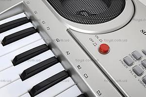 Синтезатор с микрофоном, детский, SD5488-A, игрушки