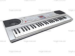 Синтезатор с микрофоном, детский, SD5488-A, магазин игрушек