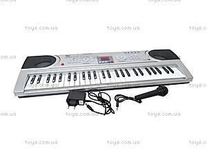 Синтезатор с микрофоном, детский, SD5488-A, toys.com.ua