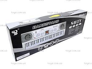 Синтезатор с микрофоном, детский, SD5488-A