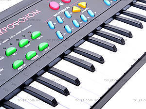 Синтезатор с микрофоном для детей, BT-3738 UKR, цена