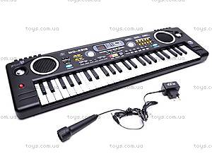 Синтезатор с микрофоном для деток, MQ4912