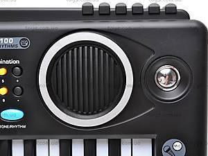 Синтезатор с микрофоном для деток, MQ4912, игрушки