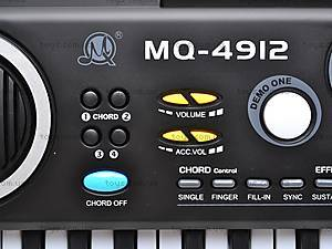 Синтезатор с микрофоном для деток, MQ4912, магазин игрушек