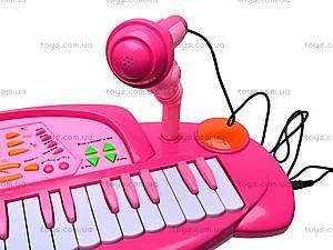 Синтезатор со стульчиком, HK-5050C-1, игрушки