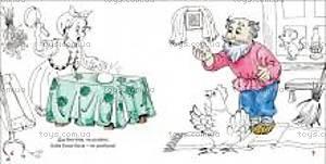 Сказка-раскраска «Курочка Ряба», 03080, купить