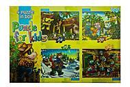 Сказки - пазлы для детей, K5420-02-04, фото