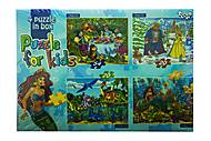 Сказки - пазлы в 1 наборе, K5420-02-09