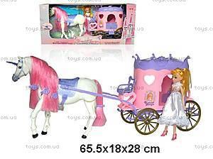 Сказочная карета с куклой, 36786