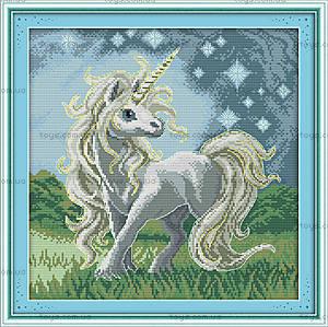 Сказочная лошадка, вышивка крестиком, D362