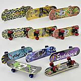 Скейт 8 видов, колесо d=5 cm, PVC, F22223, детский