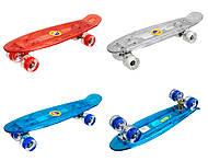 Пластиковый скейт с PU колесами, BT-YSB-0010, фото
