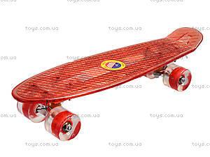 Пластиковый скейт с PU колесами, BT-YSB-0010, игрушки