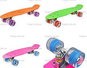 Детский скейтборд, пластик, BT-YSB-0019