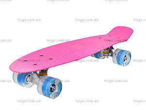 Детский скейтборд, пластик, BT-YSB-0019, игрушки