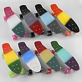 Скейт Пенни борд доска 56см, колёса PU 6см, 8 цветов , C40309, купити