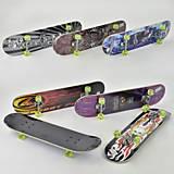 Скейт подшипники ABEC-5, подвеска - алюминий, F22226, toys