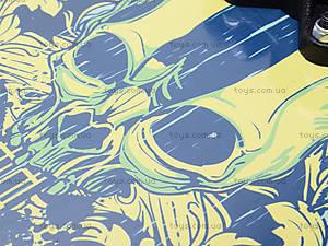Скейт Rock Star, 2406  466-616A 15840-6, отзывы