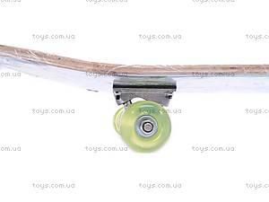 Скейт с колесами PU, 13012, купить