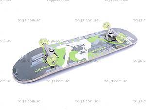 Скейт с колесами PU, 13012, фото