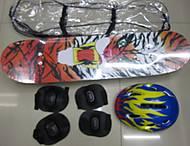 Скейт с набором защиты и шлемом, BT-YSB-0023