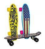 Скейт с полиуретановыми колёсами, YW0284, игрушки