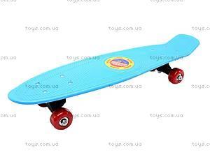 Скейтборд из пластика, M350-2, детские игрушки