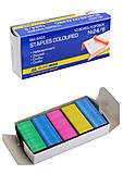 Скобы №24/6, цветные 1000 штук (10 наборов в упаковке), BM.4422, купить
