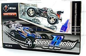 Скоростная радиоуправляемая машинка Toys Speed Racing, черный, WL-2019blk, купить