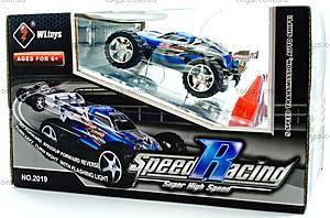 Скоростная радиоуправляемая машинка Toys Speed Racing, синий, WL-2019blu, цена