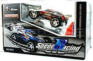 Скоростная радиоуправляемая машинка Toys Speed Racing, синий, WL-2019blu, игрушки