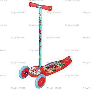 Скутер детский Angry Birds, трехколесный, Т55893