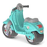 Скутер детский бирюзовый, 502_Б, купить