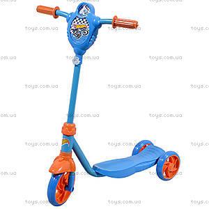 Скутер детский Hot Wheels трехколесный, Т57587