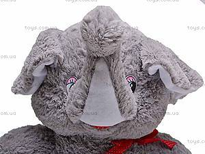 Слоник мягкий игрушечный, 7854/60, фото