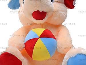 Слоник с шарфом или мячем, M-FY-770/52, купить