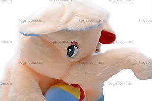 Слоник с шарфом или мячем, M-FY-770/52, фото