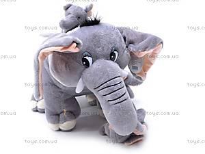 Слоник со слонятами, плюшевые, S-JJ2222