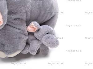 Слоник со слонятами, плюшевые, S-JJ2222, отзывы