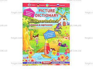Детский словарь с картинками , 3799, цена