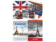 Словарь по иностранному языку А5, 48 листов (5 штук в упаковке), ТЕ369, детские игрушки