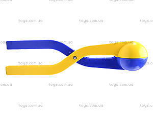 Большой снежколеп, сине-желтый, , игрушки