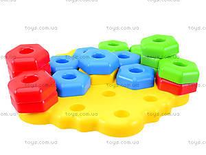Развивающая игрушка для детей «Снежинка», 39182, отзывы