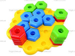 Развивающая игрушка для детей «Снежинка», 39182, игрушки